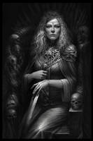 Lady of bones by 123698741