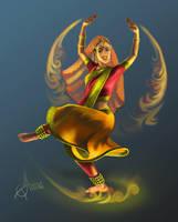 Indian Dancer by AnnaTerentieva