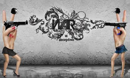 The Deception Of War by LeftoverPrints