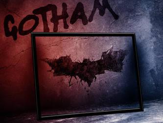 Batman custom Arkham Asylum Certificate of Sanity by LeftoverPrints
