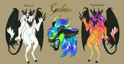 Galatur [Bitaur MYO Contest Entry] by cindersandashes