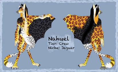 Nahuel [Mantlebeast MYO Contest Entry] by cindersandashes