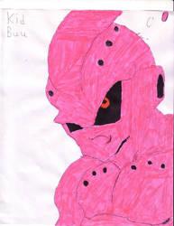 Kid Buu by Flaming-Mustang