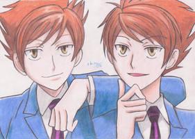 Kaoru_y_Hikaru by ShiroiKame
