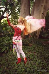Dissidia photoshoot: Terra by cwutieangel