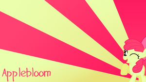 Applebloom Wallpaper by BlueDragonHans