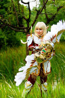 Dynasty Elf from Lineage II by pinkyluxun
