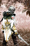 The Dark Elf III by pinkyluxun