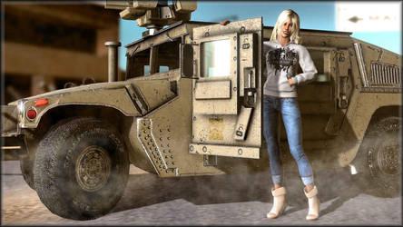 ~Skyla in the Desert~ by ken1171