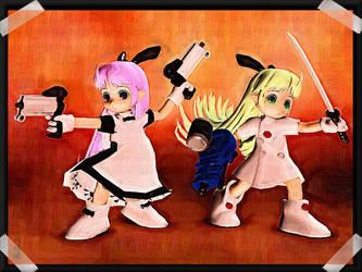 -Chibi Attack II- by ken1171