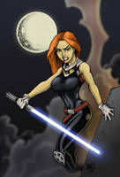 Mara Jade by Bill Maus by nexcolors
