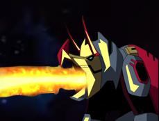 Slag attacks Unicron by du365