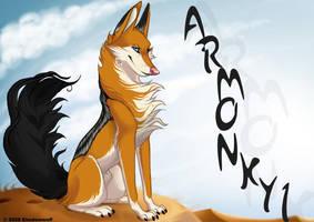 Armonkyi badge by Shadowwolf