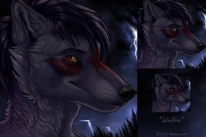 Wolfie icon by Shadowwolf