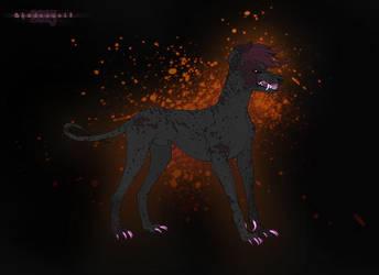 Crimson and Gray by Shadowwolf