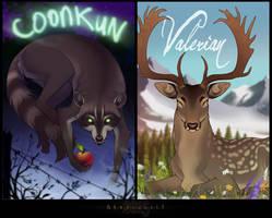 Coonkun Valerian badge by Shadowwolf