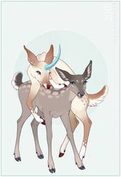 Lottie and Leotie by Shadowwolf