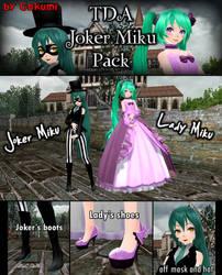 TDA Joker Miku Pack + DL LINK by Gokumi