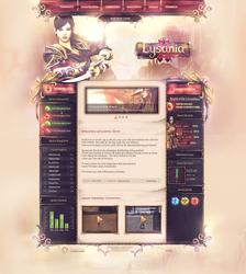 Lysania II Webdesign by iKyroja