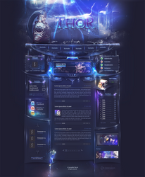 Thor Webdesign by iKyroja
