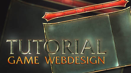 Game Webdesign YT-Tutorial [Ongoing] by iKyroja