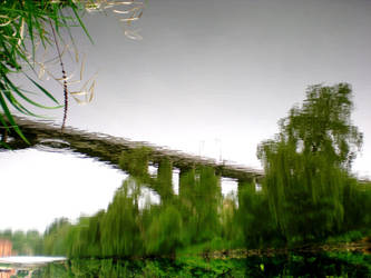 Bridge over troubled water by MeadowFay