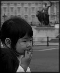 Girl at Buckingham's by MeadowFay