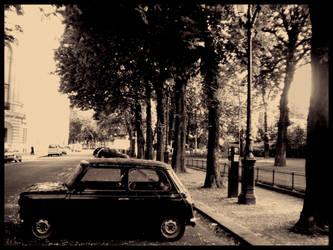 Paris car by MeadowFay
