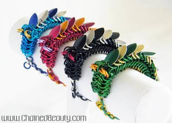 Dragon Bracelets 2 by ChainedBeauty