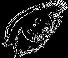 Ojos Pixelados PNG - Pixelated eyes png by SabruTutos