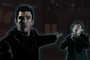 Heroes - Sylar vs Peter by sketchezdotcom