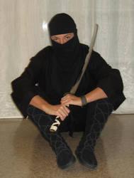 Stocking Ninja 18 by NikashaIniquitous