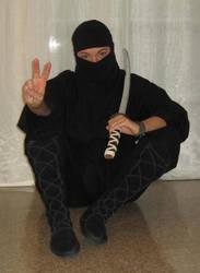 Stocking Ninja Final by NikashaIniquitous