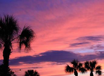 Red Skies At Night by NikashaIniquitous
