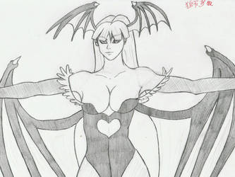 Morrigan Aensland by Lionofdemise