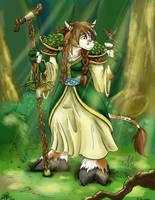 Tauren Druid by Cadychan