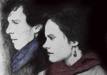 Original Artwork for Self Portrait With Sherlock by filmshirley