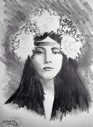 Evelyn Nesbit by filmshirley