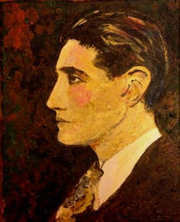 Portrait of Ivor Novello by filmshirley
