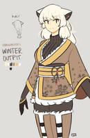[Pokimono] Winter Hanakazura by enkkitsu