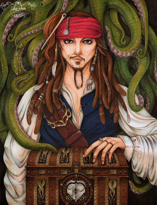 Jack Sparrow by maxicarry