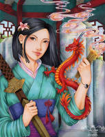 Mulan by maxicarry