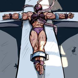 Female Bane Sketch N 3 by kenkillerman93