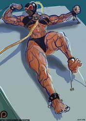 Female Bane Sketch N 4 by kenkillerman93