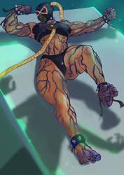 Female Bane N1 (Phase4 of transformation) by kenkillerman93