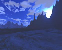 Fantasy in Blue by MysticrainbowStock