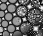 Black and White Fractal 1 by MysticrainbowStock