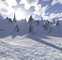 Snowy 1 by MysticrainbowStock