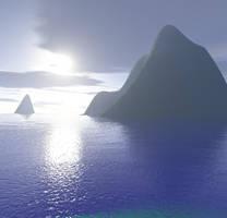 Deep Blue Sea by MysticrainbowStock