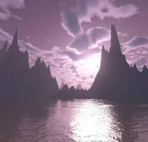 Purple Enlightenment Stock by MysticrainbowStock
